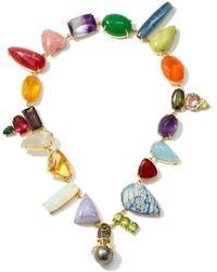 Daniela Villegas Wonderland Multi-stone, Pearl & 18kt Gold Choker - Multicolor