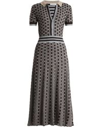 Gabriela Hearst   Elvis Point-collar Cashmere-blend Knitted Dress   Lyst
