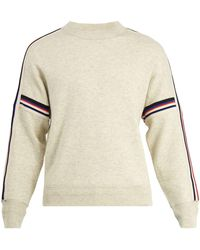 Isabel Marant | Nelson Striped Cotton-blend Sweater | Lyst