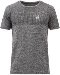 Asics Race Seamless Jersey T-shirt - Black