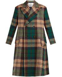 Vivienne Westwood - Princess Hecked Harris Tweed Coat - Lyst