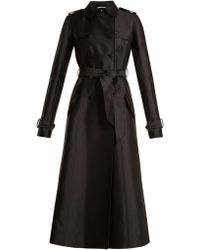 Gabriela Hearst | Cassatt Silk And Wool-blend Trench Coat | Lyst