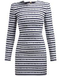 Balmain Mini Dress - Blue
