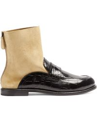 Loewe - Sock Boot Loafer - Lyst