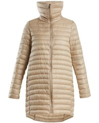 Moncler - Citrinelle Funnel-neck Quilted Coat - Lyst