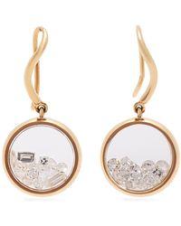 Aurelie Bidermann - Chivor 18kt Gold & Diamond Earrings - Lyst