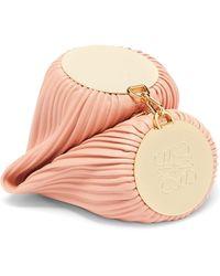 Loewe ブレスレット プリーツレザーバッグ - ピンク