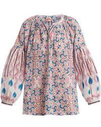 Le Sirenuse - Sun Cotton Shirt - Lyst