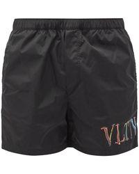 Valentino Vltn スイムショーツ - ブラック