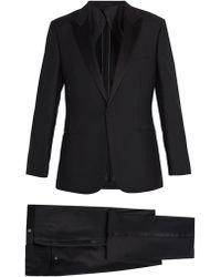 Kilgour - Satin-lapel Wool And Mohair-blend Tuxedo - Lyst