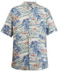 Faherty Brand - Short-sleeve Hawaiian-print Shirt - Lyst