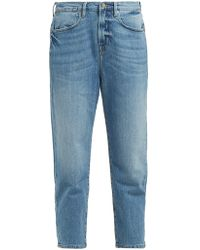 FRAME Le Stevie Cropped Jeans - Blue