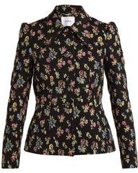 Erdem - Floral Jacquard Jacket - Lyst