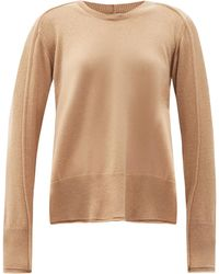 Stella McCartney Regenerated Cashmere-blend Sweater - Natural