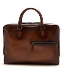Berluti - F007 Leather Briefcase - Lyst