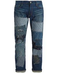 Junya Watanabe - X Levis Patchwork-detailed Jeans - Lyst