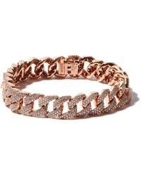 SHAY Bracelet en or rose 18 carats et diamant - Multicolore