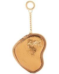 Saint Laurent | Love Heart-shaped Leather Coin Purse | Lyst