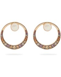 Noor Fares - Svadhisthana Yellow Sapphire & 18kt Gold Earrings - Lyst