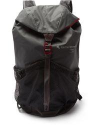 Klättermusen Fjörm Waterproof Backpack - Grey