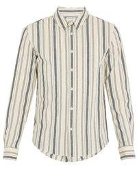 Éditions MR - St. Germain Striped Cotton Shirt - Lyst