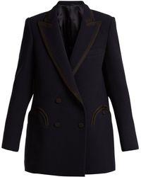 Blazé Milano   Resolute Everyday Wool-crepe Blazer   Lyst