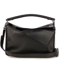 Loewe - Puzzle Leather Bag - Lyst