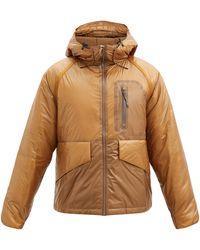 Gramicci Padded Cordura-ripstop Hooded Jacket - Brown