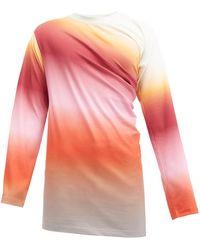 Y. Project グラデーションコットン ロングスリーブtシャツ - マルチカラー