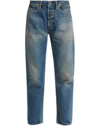 Chimala - Selvedge Straight Leg Jeans - Lyst