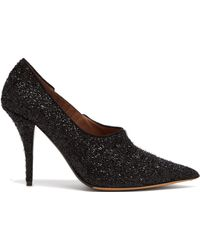 Tabitha Simmons - Oona Lurex Point Toe Court Shoes - Lyst