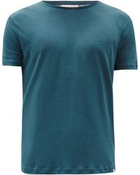 Orlebar Brown - Ob-t リネンtシャツ - Lyst