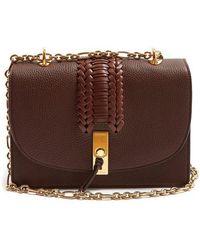 Altuzarra - Ghianda Braided Pebbled-leather Shoulder Bag - Lyst