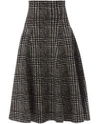 Norma Kamali グレース リバーシブル スカート - ブラック