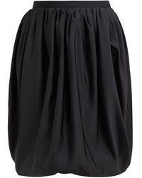 Calvin Klein - ハイライズ バブルヘムギャザースカート - Lyst