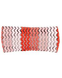 Missoni - - Fish Scale Knitted Headband - Womens - Red Multi - Lyst