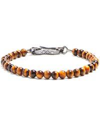 Bottega Veneta - Tigers-eye Bracelet - Lyst