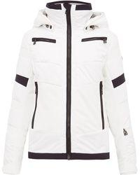 Toni Sailer Luna スキージャケット - ホワイト