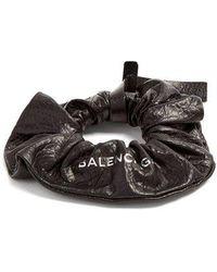 Balenciaga - Leather Hair Tie - Lyst