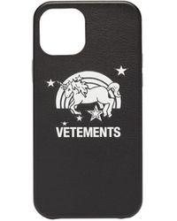 Vetements ユニコーン Iphone 12 Pro ケース - ブラック