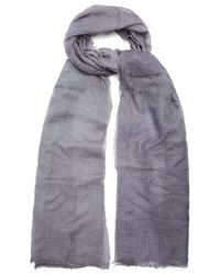 Title Of Work - Solid Cashmere Scarf - Lyst