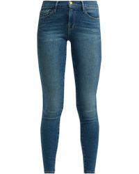 FRAME - Le Skinny De Jeanne Mid Rise Jeans - Lyst