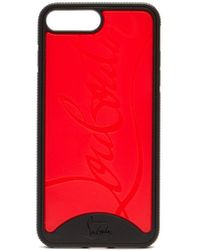 Christian Louboutin Loubiphone Rubber Iphone® 7/8 Plus Case - Red