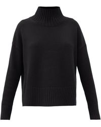 Co. - High-neck Wool-blend Sweater - Lyst