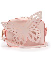 Sophia Webster - Brooke Butterfly Appliqued Leather Cross Body Bag - Lyst