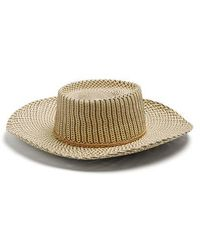 Sensi Studio - 2022 Tassel-embellished Woven-straw Hat - Lyst