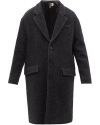 Isabel Marant Stancer Wool-blend Coat - Grey