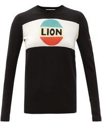 Bella Freud ライオン ウールセーター - ブラック
