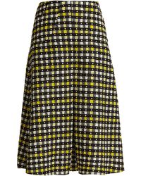 Duro Olowu | Napoli Check-print Pleated A-line Skirt | Lyst