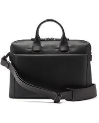 Troubadour Generation Pathfinder Leather Briefcase - Black